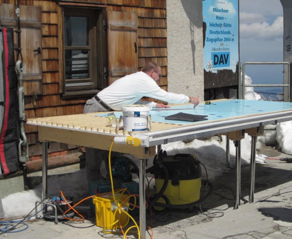 Zugspitze -- ein Projekt der Raumausstattung Rampf